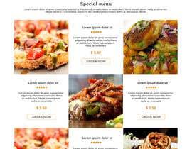 Nro 13 kilpailuun website design for an indian restaurant käyttäjältä luckysufiyan143