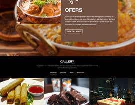 Nro 9 kilpailuun website design for an indian restaurant käyttäjältä nextdesign2007