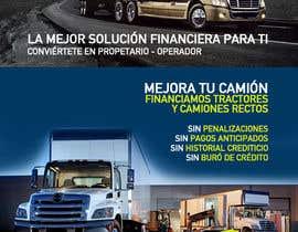 MariaGraciaG tarafından Truck Finance Copmpny -Design a Flyer in Spanish için no 6