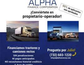 Picholin5 tarafından Truck Finance Copmpny -Design a Flyer in Spanish için no 5