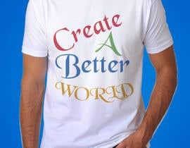 Nro 23 kilpailuun Design a T-Shirt käyttäjältä A7mdSalama
