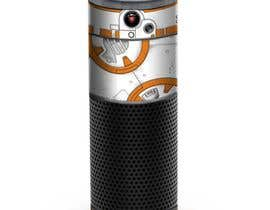#8 for Create a BB8 or R2D2 type design to be used for a skin for Amazon Echo by AFilipenko