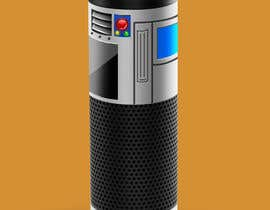 #2 for Create a BB8 or R2D2 type design to be used for a skin for Amazon Echo by phyxan