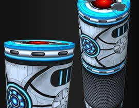 #12 for Create a BB8 or R2D2 type design to be used for a skin for Amazon Echo by phyxan