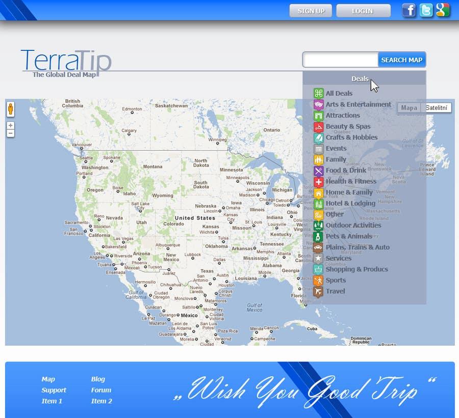 Contest Entry #                                        4                                      for                                         Website Design for TerraTip