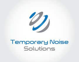 nº 55 pour Design a Logo for Temporary Noise Solutions par goianalexandru