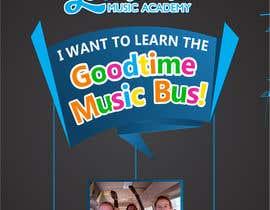adview1 tarafından Basic Flyer for a music school #1 - EASY BRIEF! için no 3