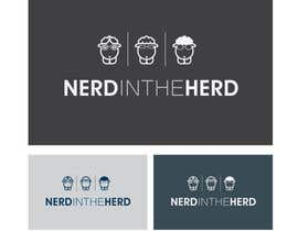 nº 71 pour Logo Design for NerdintheHerd par Decafe