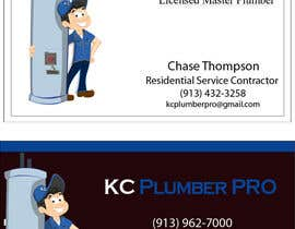 #7 para Design some Business Cards for KC Plumber Pro por Nermushermus