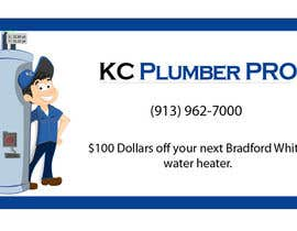 nº 8 pour Design some Business Cards for KC Plumber Pro par Nermushermus
