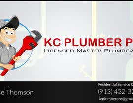 #6 cho Design some Business Cards for KC Plumber Pro bởi DLS1
