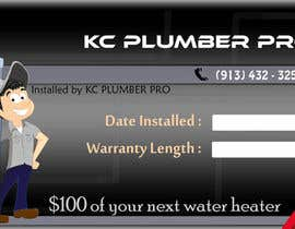 #30 untuk Design some Business Cards for KC Plumber Pro oleh cdinesh008
