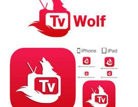#38 for Design a Logo for TvWolf Mobile App af pkapil