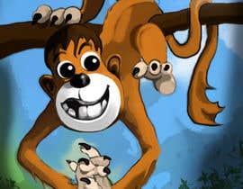 #11 for Illustrate a monkey! by BibinAJ