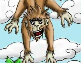 #9 for Illustrate a monkey! af adityasrinate