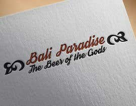 "Nro 5 kilpailuun Create a label for a beer brand called ""Bali Paradise"" with the sub-title ""The Beer of the Gods"" käyttäjältä adilesolutionltd"