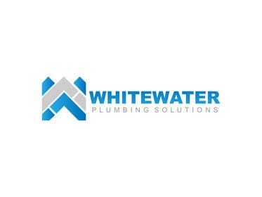 #65 for Design a Logo for White Water Plumbing by nasirmomin95