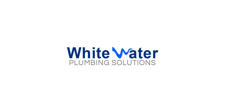 #56 for Design a Logo for White Water Plumbing by Psynsation