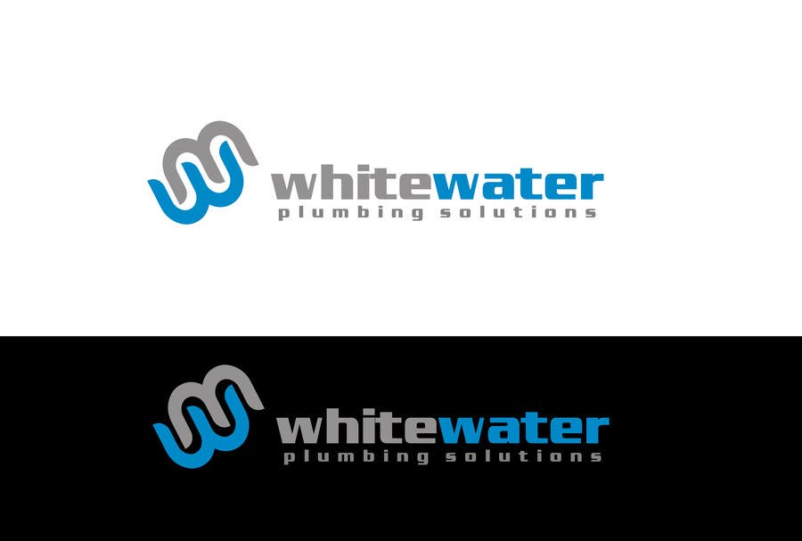 #61 for Design a Logo for White Water Plumbing by Sehban96