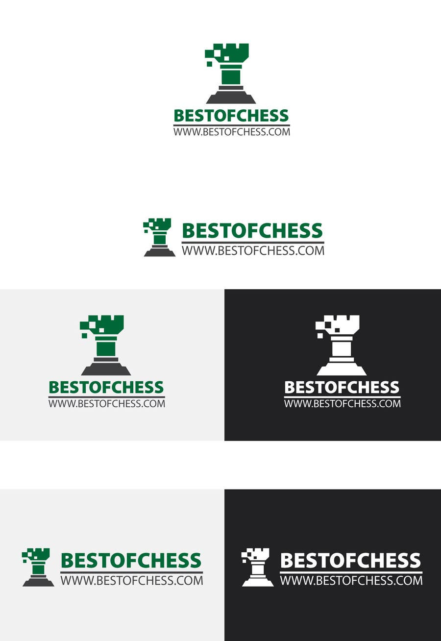 #18 for Design a Logo for a Chess website by uhassan