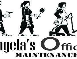 ShaMiat tarafından Design a logo for Angela's office maintenance için no 9