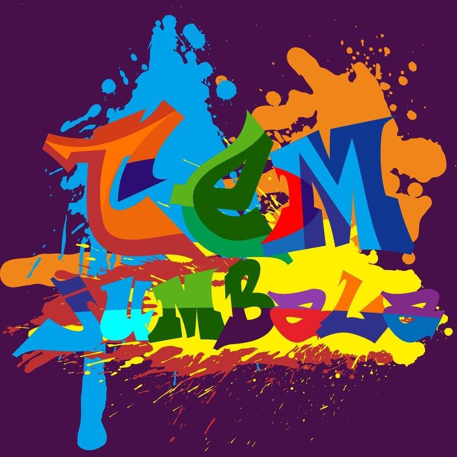"Kilpailutyö #54 kilpailussa Design for Logo for the word ""Tem Jumbala"""