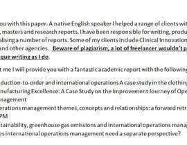 #4 untuk Academic Writing for  INTERNATIONAL OPERATIONS MANAGEMENT STRATEGY oleh nswapsj