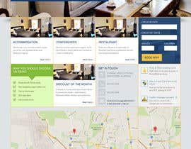 #28 for Create a Wordpress Template for Hotel af theinspiredart