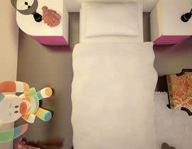 #22 for Create a small, easy and very simple girls bedroom scene by olsiad