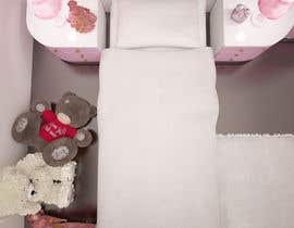 #34 cho Create a small, easy and very simple girls bedroom scene bởi olsiad
