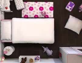 #33 cho Create a small, easy and very simple girls bedroom scene bởi redlampdesign
