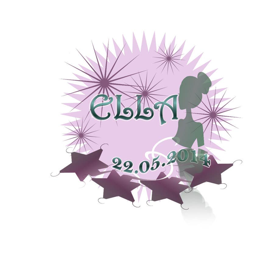 #41 for Design a Logo for my daughter's bat mitzvah by tolijoanna