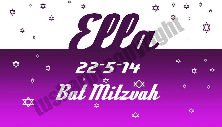 #24 for Design a Logo for my daughter's bat mitzvah by tusharpt