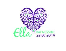 nº 33 pour Design a Logo for my daughter's bat mitzvah par elisaf