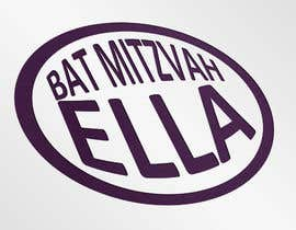 nº 4 pour Design a Logo for my daughter's bat mitzvah par oyyenici