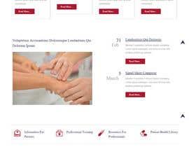 zeeshanayaz1 tarafından Design a Website Mockup For an Acupuncture Clinic için no 3