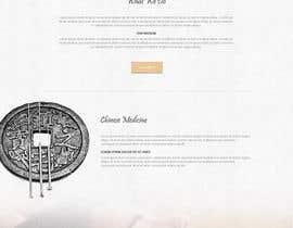 bestwebthemes tarafından Design a Website Mockup For an Acupuncture Clinic için no 26