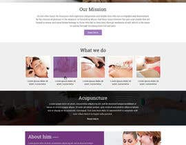 adixsoft tarafından Design a Website Mockup For an Acupuncture Clinic için no 8