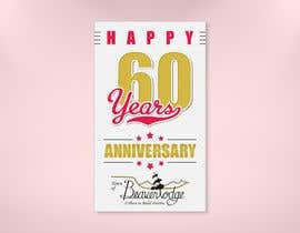Nro 25 kilpailuun 60th anniversary celebration käyttäjältä MrDesi9n