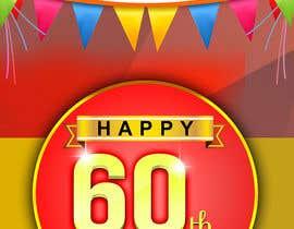 Nro 28 kilpailuun 60th anniversary celebration käyttäjältä rkbhiuyan