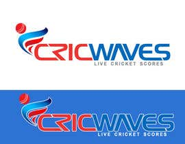 #142 untuk Graphic Design for cricwaves.com oleh junaidaf