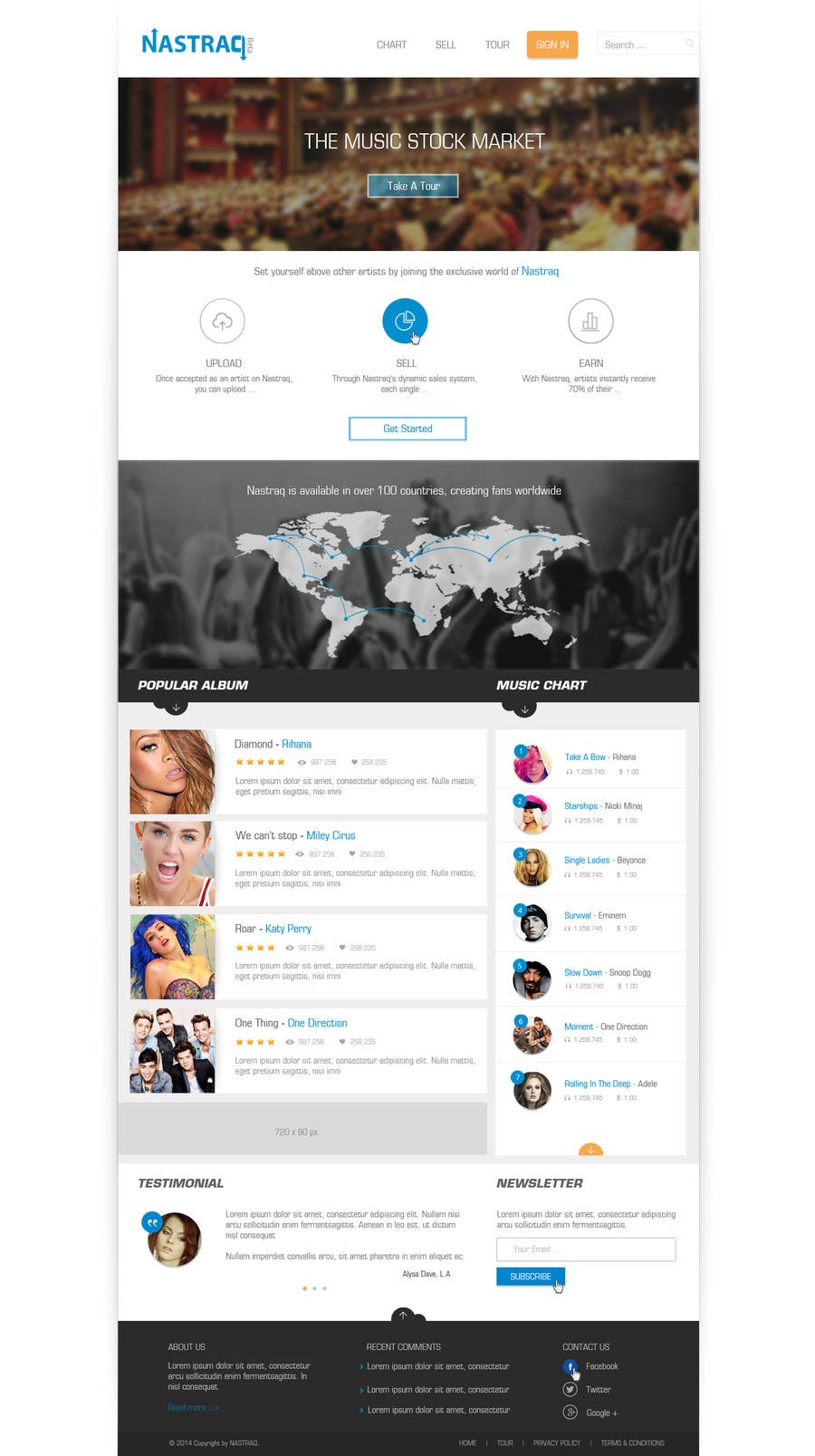 #12 for 2 Page Website re-design contest by phamtech211