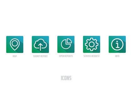 MFaizDesigner tarafından Logo, icons and branding for mobile and web platform için no 16