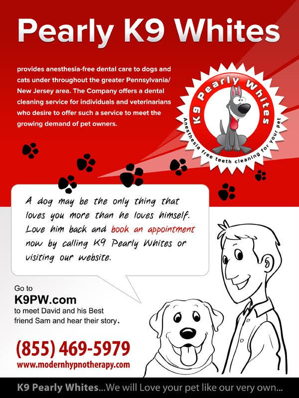 Contest Entry #                                        20                                      for                                         Flyer Design for K9 Pearly Whites [K9PW.com]