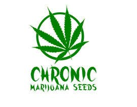 #15 untuk Design a Logo for Chronic Marijuana Seeds oleh albertnashaat
