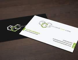 Nro 89 kilpailuun Design some Business Cards for Exclusive Car Care käyttäjältä mdreyad
