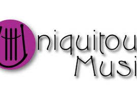 #35 para Design a Logo for Uniquitous Music por csigafi
