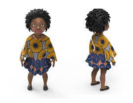ksili tarafından Design a Beautiful Black Girl Doll için no 7