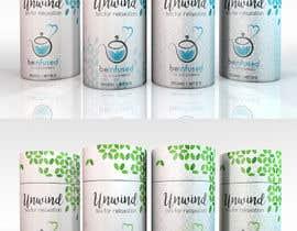 Nro 61 kilpailuun Design print packaging for herbal tea brand käyttäjältä Med7008