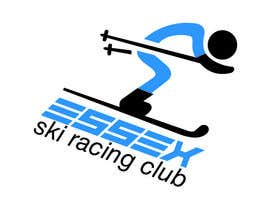 #32 para Design a Logo for a Ski Racing club por estela51
